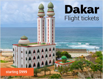 Flights to Dakar